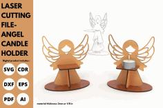 Angel Candle Holder Free PDF File