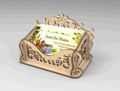 Laser Cut Box Pattern 4 Free PDF File