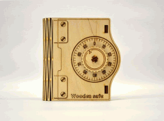 Laser Cut Wooden Safe Case Free PDF File