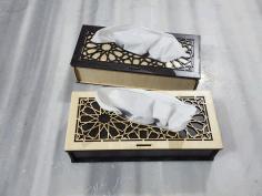 Napkeen Holder Box Cnc Laser Cutting Free PDF File