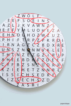 Wall Clock With An Old Vinyl Record Upcycling Idea Free PDF File