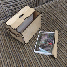 Photo Album Box For Laser Cutting Free CDR Vectors Art