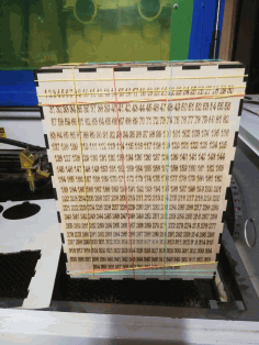 Laser Cut Piggy Bank Wooden 365 Days Plan Box Free AI File