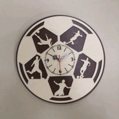 Sports Watch For Laser Cutting Free CDR Vectors Art