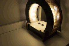 Circular Table Light Drawing For Laser Cut Free CDR Vectors Art