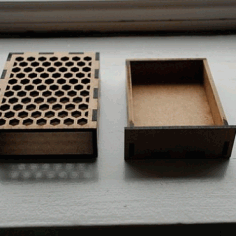 Card Box Layout For Laser Cut Free CDR Vectors Art