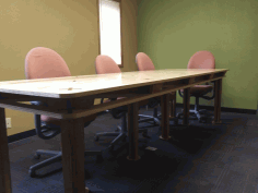 Plywood Conference Table 10 X 4 Ft For Laser Cut Free DXF File