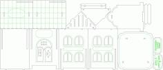 Tea House Layout For Laser Cut Free CDR Vectors Art