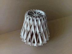 Diamond Pendant Lamp For Laser Cut Free DXF File