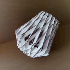 Diamond Pendant Lamp For Laser Cut Free CDR Vectors Art