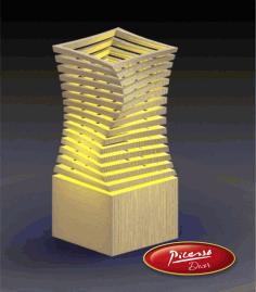 Lamp Fifth Element For Laser Cut Free CDR Vectors Art