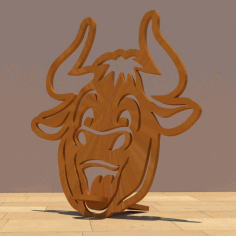 Phone Stand Symbol Of The Year For Laser Cut Free CDR Vectors Art