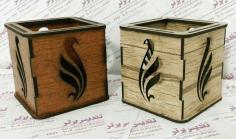 Wooden Box For Pens Pencils For Laser Cut Free CDR Vectors Art