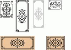 Ornaments For Laser Cut Free CDR Vectors Art