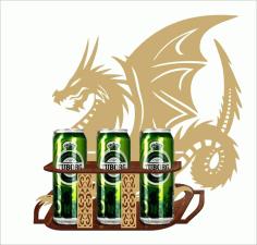 Dragon Pattern For Laser Cut Free CDR Vectors Art