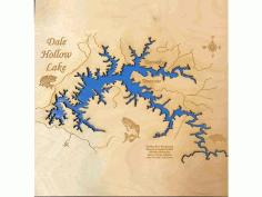 Laser Cut Dale Hallow Free CDR Vectors Art
