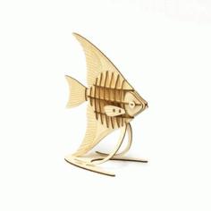 Laser Cut Fish Mehta Free CDR Vectors Art