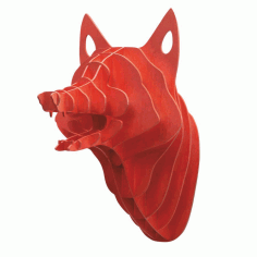 Laser Cut Fox pugalo13 Free CDR Vectors Art