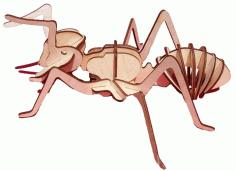 Insect Ant Laser Cut Free CDR Vectors Art
