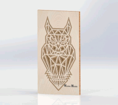 Layered Owl For Laser Cut Free CDR Vectors Art