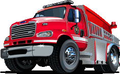 Fire Rescue Vehicle Free CDR Vectors Art