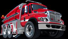 Fire Fighting Truck Free CDR Vectors Art