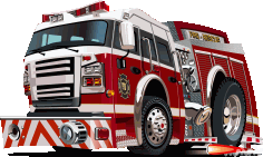 Fire Rescue Vehicle Image Free CDR Vectors Art