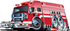 Fire Rescue Machine Free CDR Vectors Art