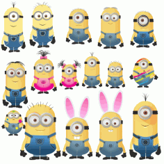 Minions Vector Images Free CDR Vectors Art