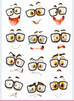 Emoji Vector Vector Smileys On Transparent Background Download Free CDR Vectors Art