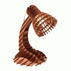 Table Lamp In Parametric Style Free CDR Vectors Art