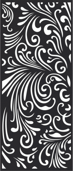 Abstract LaserCut Panel Pattern Free CDR Vectors Art