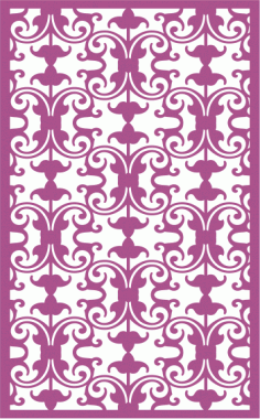 Decorative Screens LaserCut Pattern Free CDR Vectors Art