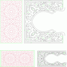 Decorative Pattern Free CDR Vectors Art