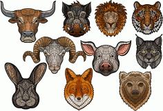 Art Animals Set Free CDR Vectors Art