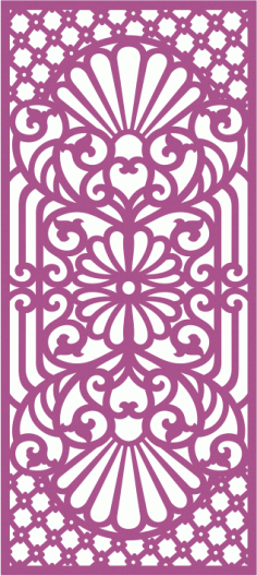 Laser cut jali design Free CDR Vectors Art