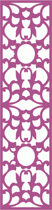 Laser Cut Decor Panel Seamless Free CDR Vectors Art
