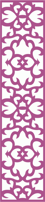 Laser Cut Floral Panel Seamless Free CDR Vectors Art