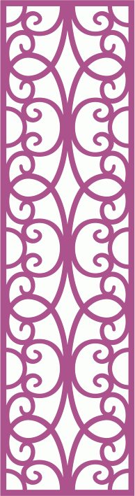 Laser Cut Vector Panel Seamless 173 Free CDR Vectors Art
