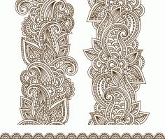 Vector Illustration Mehndi Free CDR Vectors Art