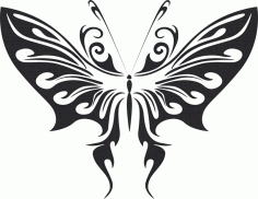 Butterfly Vector Art 008 Free CDR Vectors Art