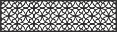 Laser Cut Pattern Template Wood Screen Free CDR Vectors Art