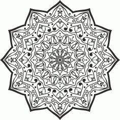 Luxury Mandala Design Free CDR Vectors Art