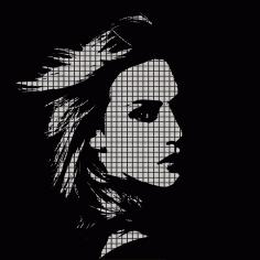 Woman Face Illustration Free CDR Vectors Art