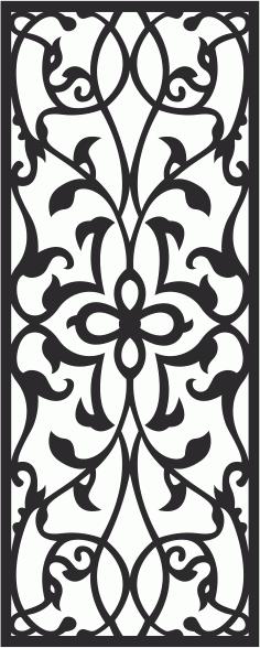 Decoration Laser Cut Pattern Free CDR Vectors Art