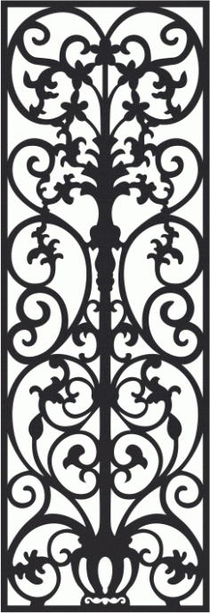 Vectorized fretwork pattern Free CDR Vectors Art