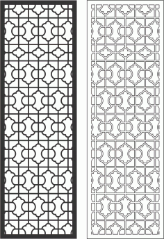 Decorative Grille Free CDR Vectors Art