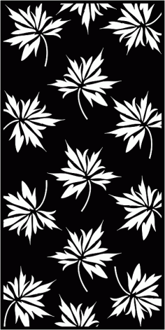 Set of Seamless Leaves pattern Free CDR Vectors Art