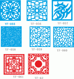 Vectors for decorative panels Free CDR Vectors Art