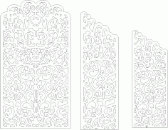 Wedding Screen Panel Free CDR Vectors Art